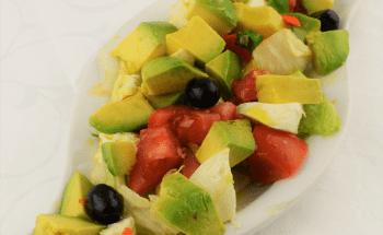 Dreifarbiger Salat gross